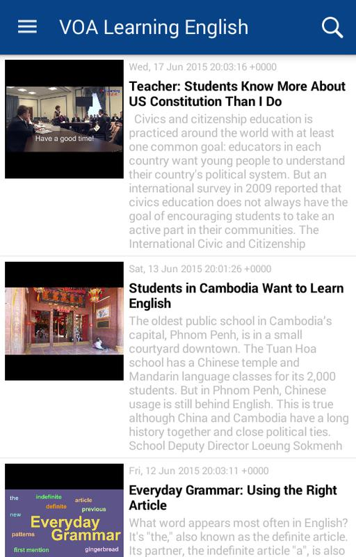 VOA Learning English APK Download - Free Education APP for Android | APKPure.com