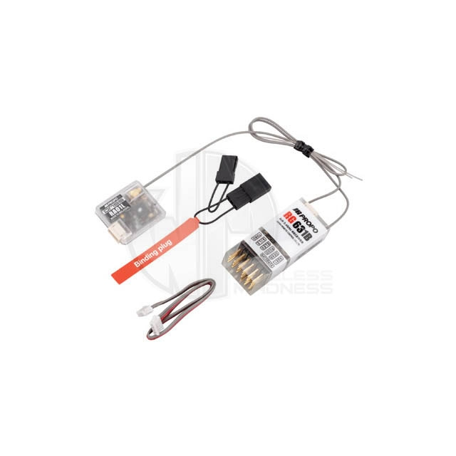 JR Propo XG6 DMSS 6 Channel 2.4GHz Transmitter and