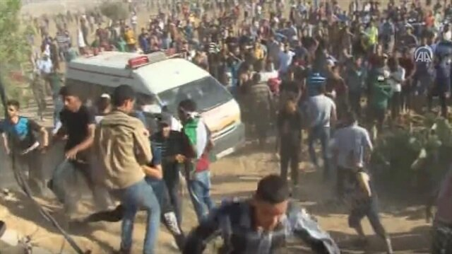 Two Palestinians in Gaza Strip killed by Israeli forces