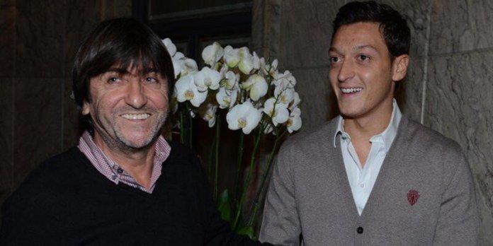 Rıdvan Dilmen ile Mesut Özil