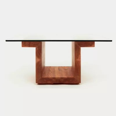 sqg28 square glass top table by alejandro artigas from artless