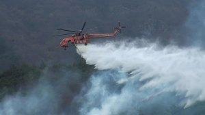 [전국]산불 전투 헬리콥터 어려운 야간 작동 조건 …