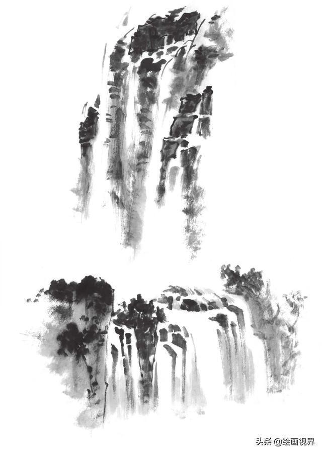 零基礎國畫教程:雲與水的畫法勾。染等技法學會這些。繪畫很簡單 - 資訊定製
