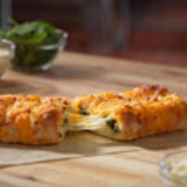 Stuffed Cheesy Bread With Spinach Feta Dominos View Online