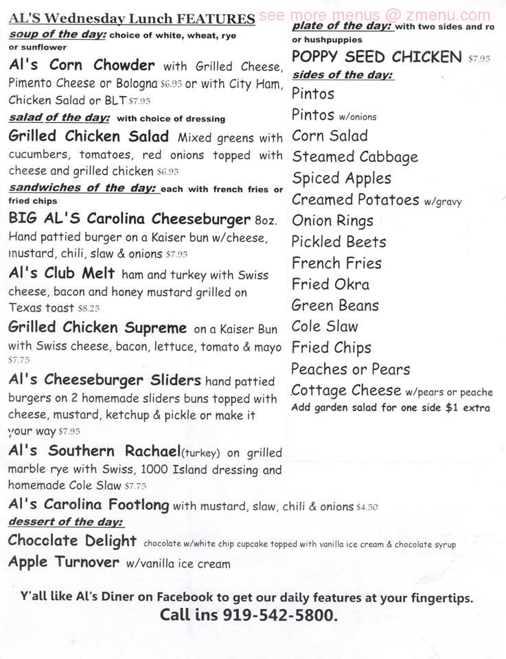 Kitchen 919 Menu Prices