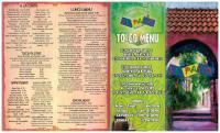 Online Menu of El Patio Mexican Grille Restaurant ...