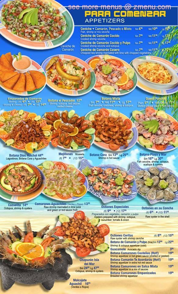 Soul Food Menu Prices