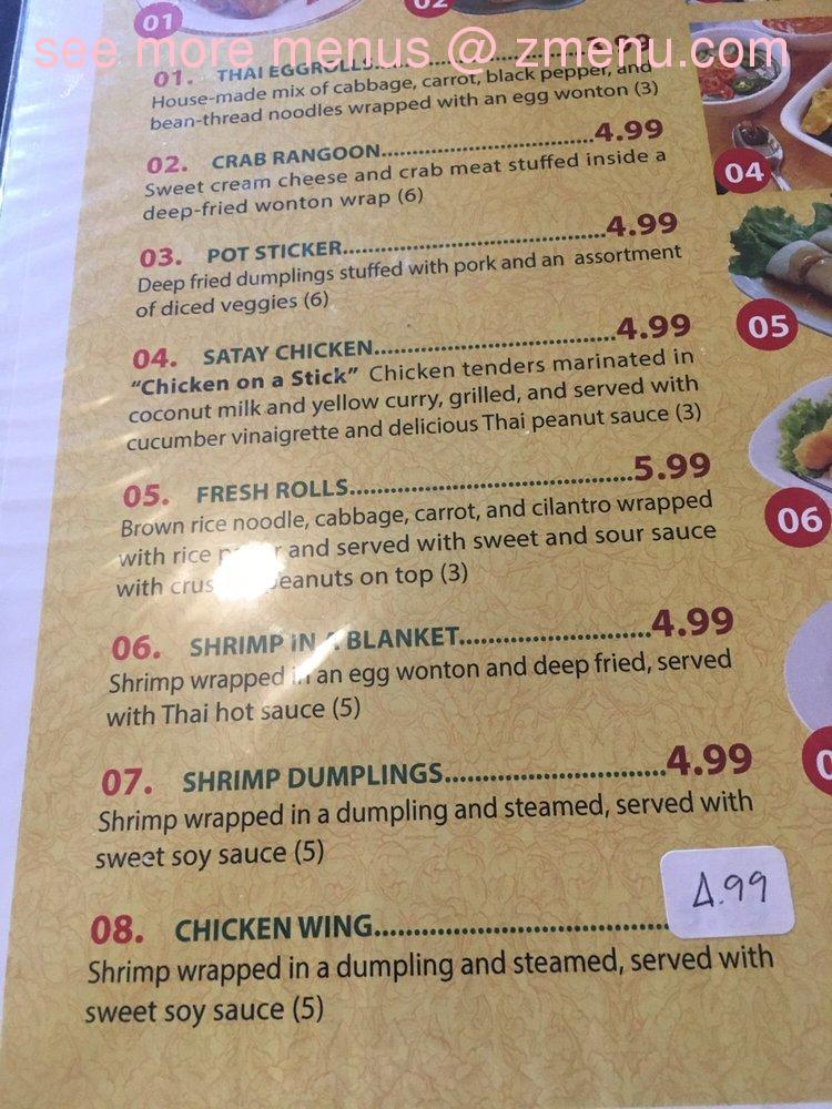 Love Sushi Jefferson City Menu