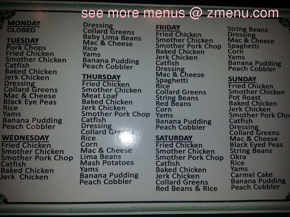 Soul Food Restaurants 60637