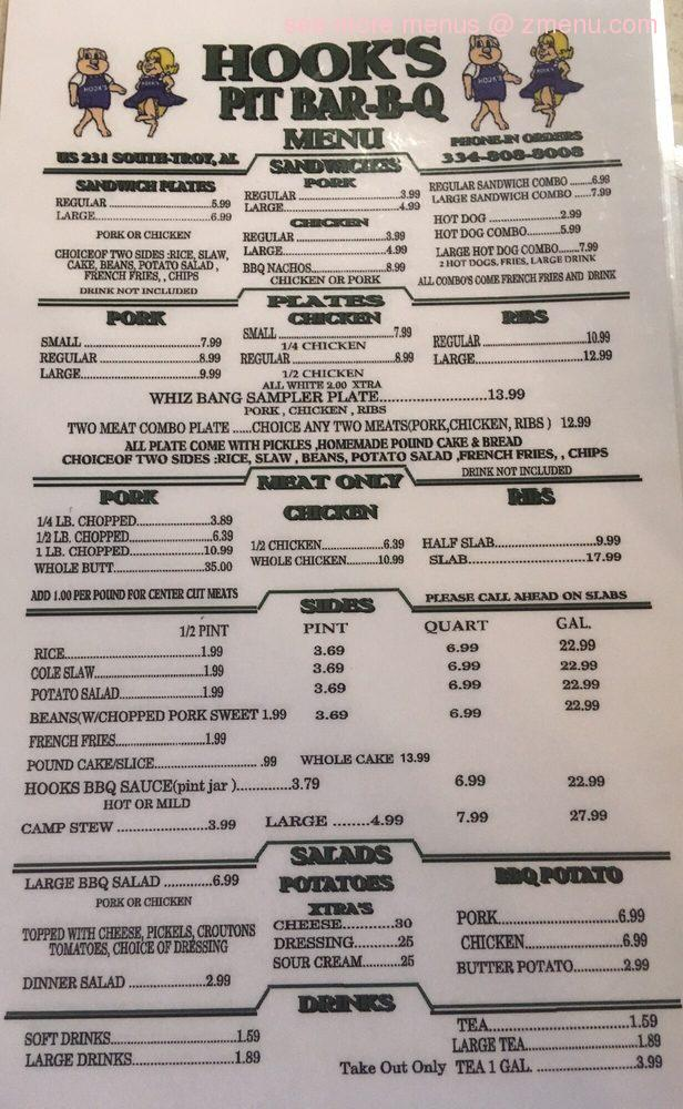 Buffalo Wings Menu Prices