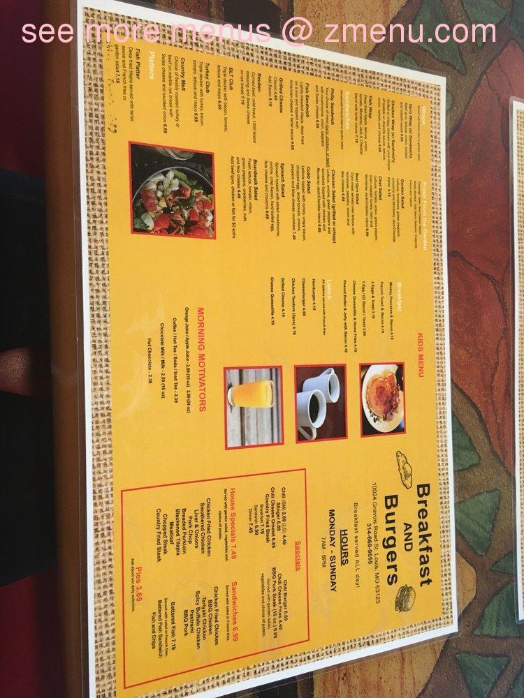 Fast Food Restaurants 63123