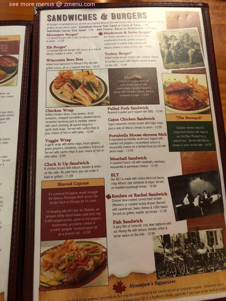 Moosejaw Wisconsin Dells Menu : moosejaw, wisconsin, dells, Online, Moosejaw, Pizza, Dells, Brewing, Restaurant,, Wisconsin, Dells,, Wisconsin,, 53965, Zmenu