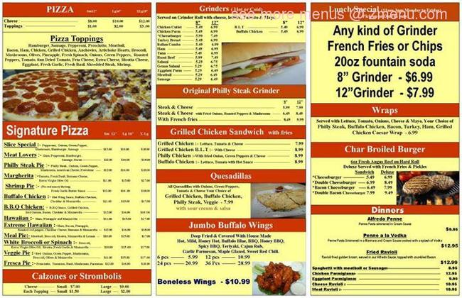 China Kitchen Menu