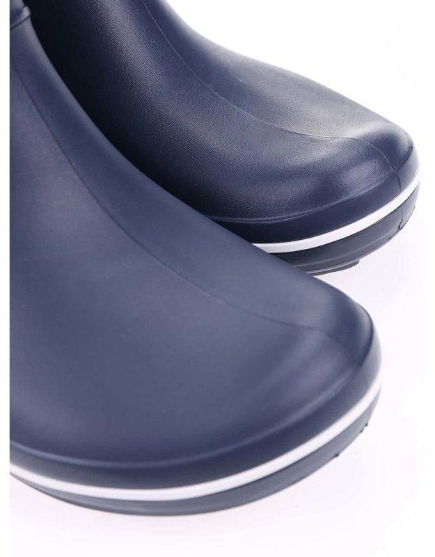 c7f19782765 Tmavě modré dámské holínky Crocs Crocband Jaunt
