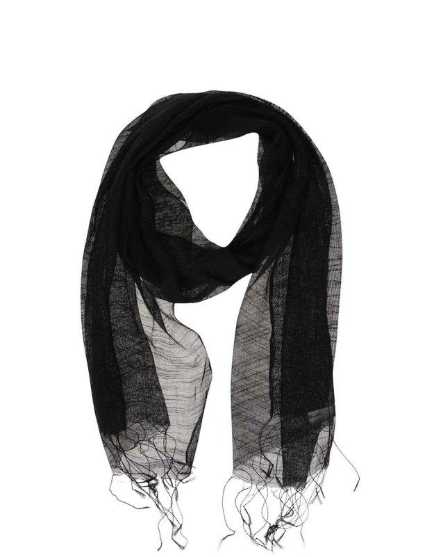 2311a204466 Černý hedvábný šátek INVUU London (176559) od ZOOT
