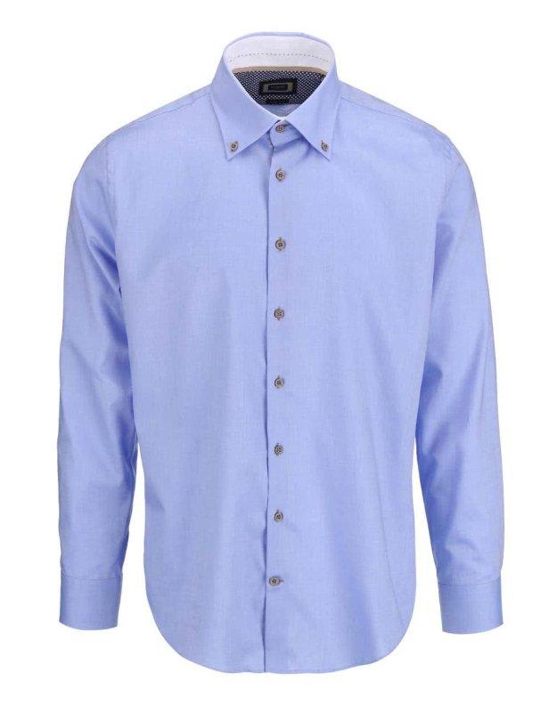 Světle modrá pánská košile bugatti (172356) od ZOOT fac489431e