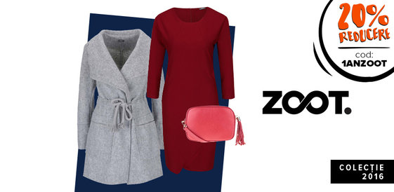 ZOOT: Rochii, paltoane și genți clasice