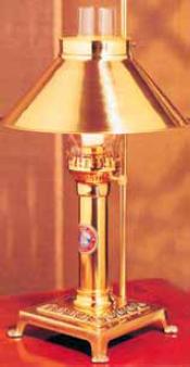 Titanic Brass Lamp