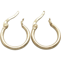 Small sterling Silver Hoop Earrings
