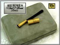 HERMES : 18k Gold & Tortoise Shell Cigarette Holder ...