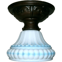 Vintage Flush Mount Ceiling Light Fixture from ...