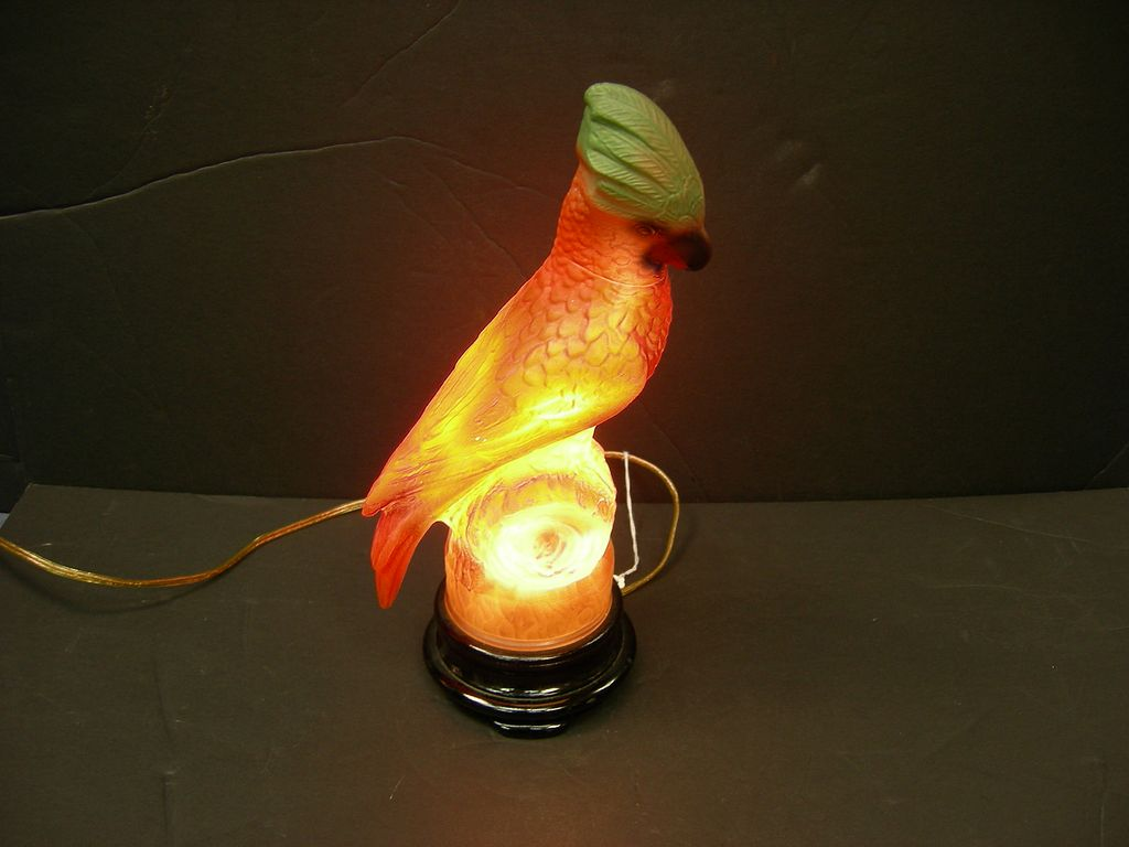 Pin Unusual Parrot Lamp on Pinterest
