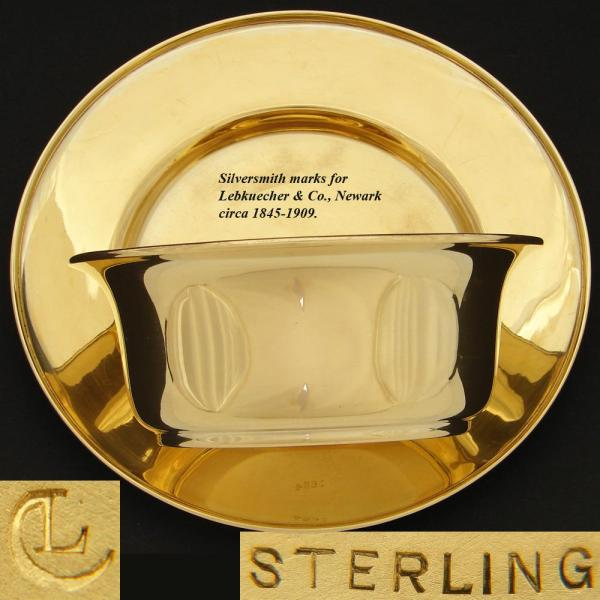Sterling Silver Anniversary Plate