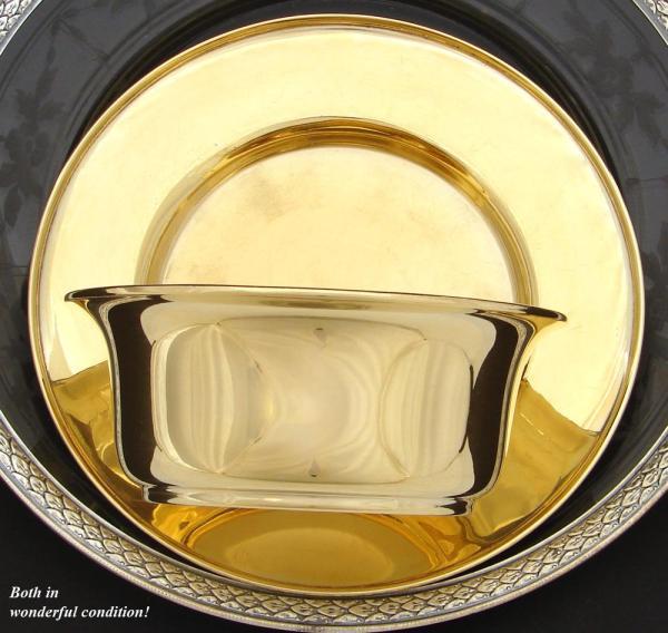 Antique Caviar Serving Set