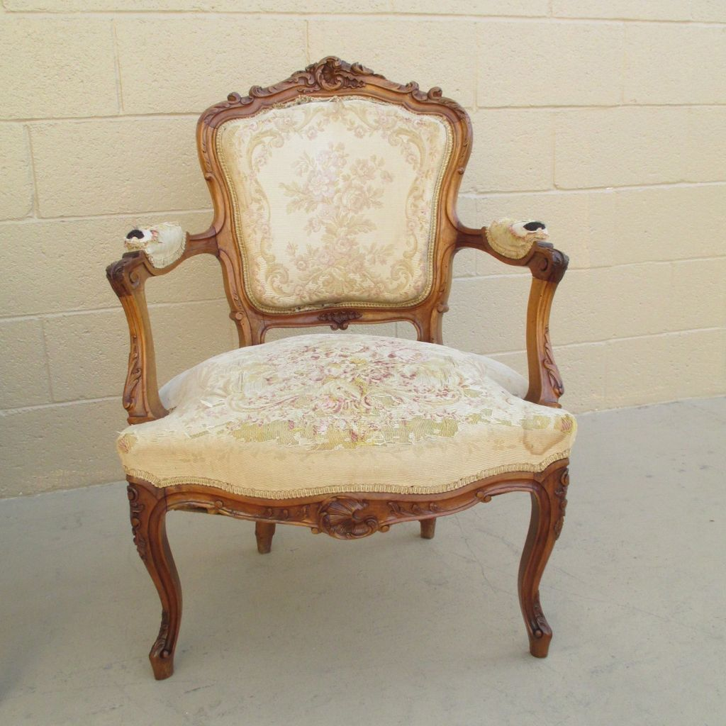 French Antique Chair  Antique Furniture