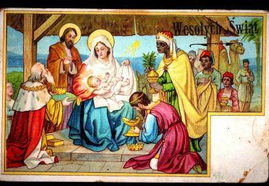 Amazon Vintage Christmas Postcards