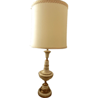 Vintage Rembrandt Brass and Enamel Table Lamps from ...