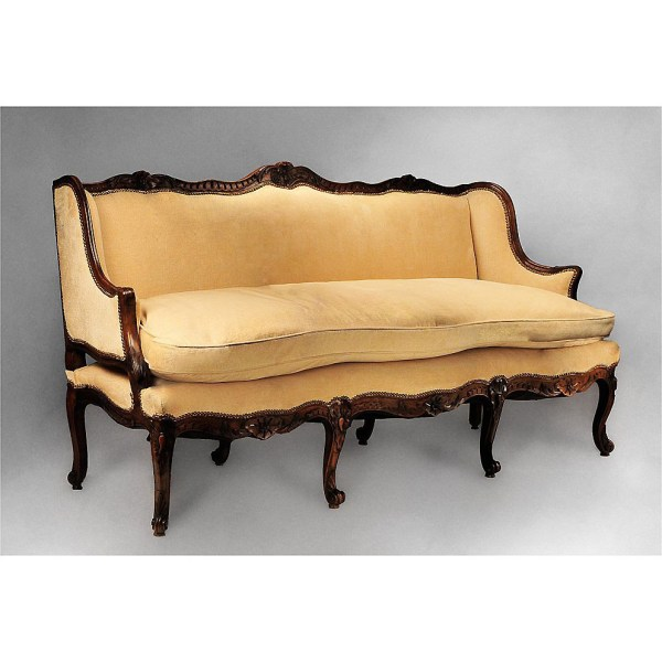 18th . French Provincial Gence Canape Sofa