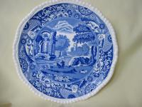 Blue & White Copeland Spode Plate Pattern Italian 1930's ...
