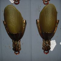 Art Deco Slip Shade Sconces - Lincoln from ...