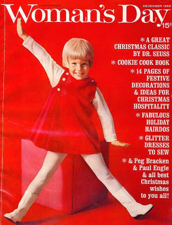 Holiday December 1966 Womans Day Magazine Christmas