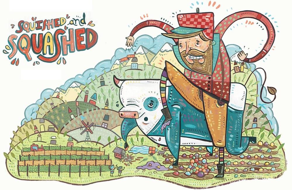 medium resolution of matt luckhurst illustrator chad beckerman art director abrams books for young readers client paul bunyan