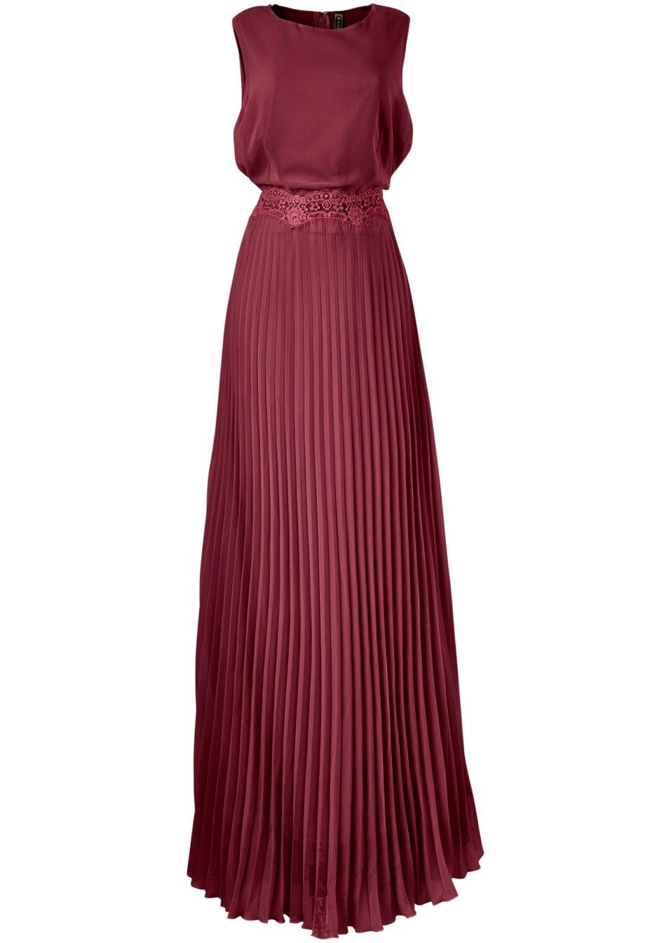 Bezauberndes Kleid mit Spitzenverzierung in der Taille und