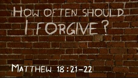 forgive seven times seven