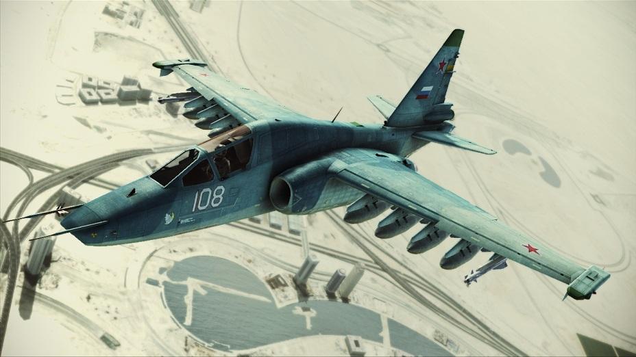 Su-25TM Frogfoot - ACE COMBAT INFINITY WIKI