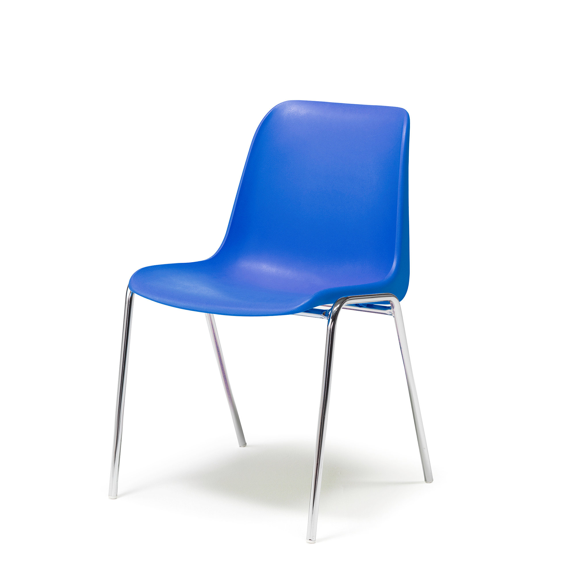 Plastic Stacking Chairs Plastic Stacking Chair Sierra Blue Aj Products Online