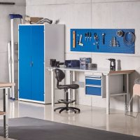 Extra deep storage cabinet | AJ Products