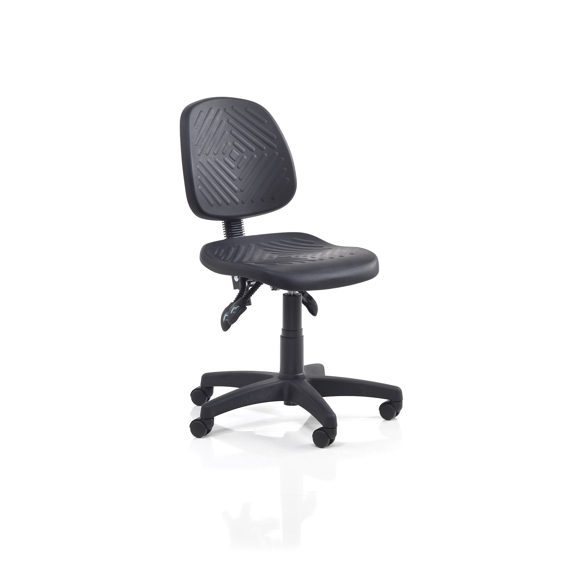ergonomic chair brisbane batman car industrial wheels h 400 520 mm black