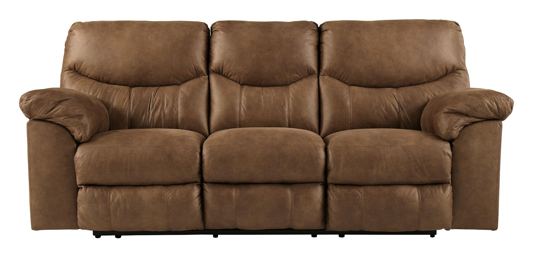 ashley faux leather sofa reviews contemporary sale signature design by 3380288 boxberg series main image