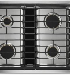 jenn air jgd3430gs 30 inch jx3 gas downdraft cooktop [ 1232 x 912 Pixel ]