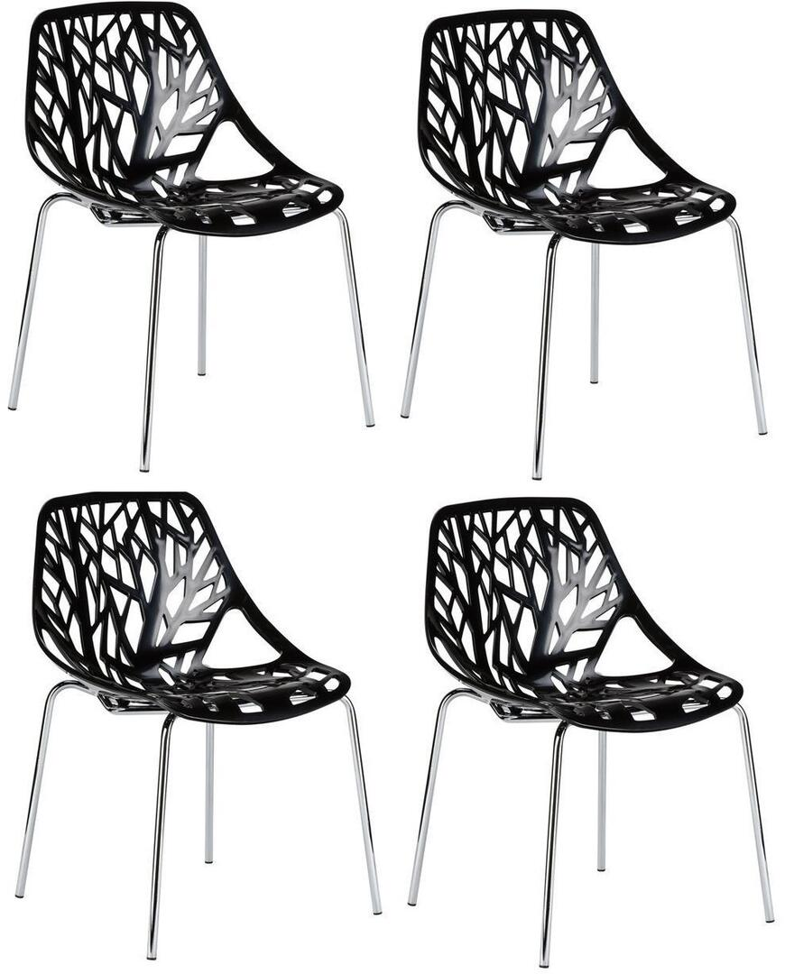 Bird Nest Chair Edgemod Em148blkx4