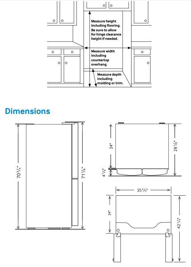 stainless steel kitchen packages small cabinet ideas samsung rf22k9581sg 36 inch family hub series counter ...