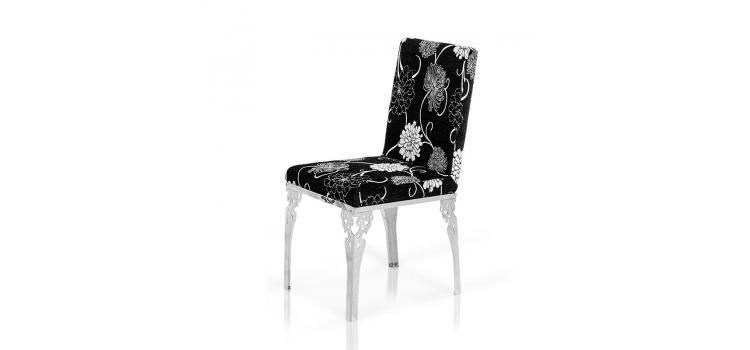 VIG Furniture VGLEFY109 Modern Fabric Metal Frame Dining