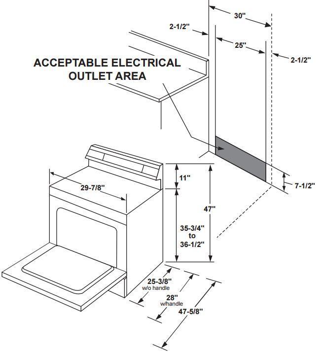GE JB655DKCC 30 Inch Electric Freestanding Range with