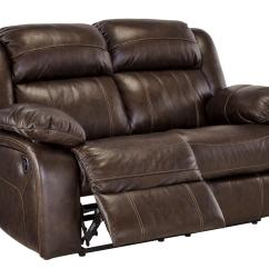 Ashley Electric Reclining Sofa Parts How To Clean Cloth Stains Signature Design By U7190186 Branton Series Leather ...