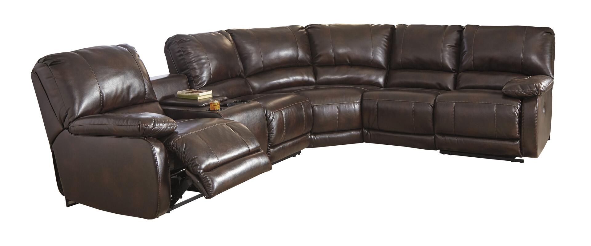 deacon leather power reclining sofa reviews saarinen signature design by ashley 3530001774662 hallettsville